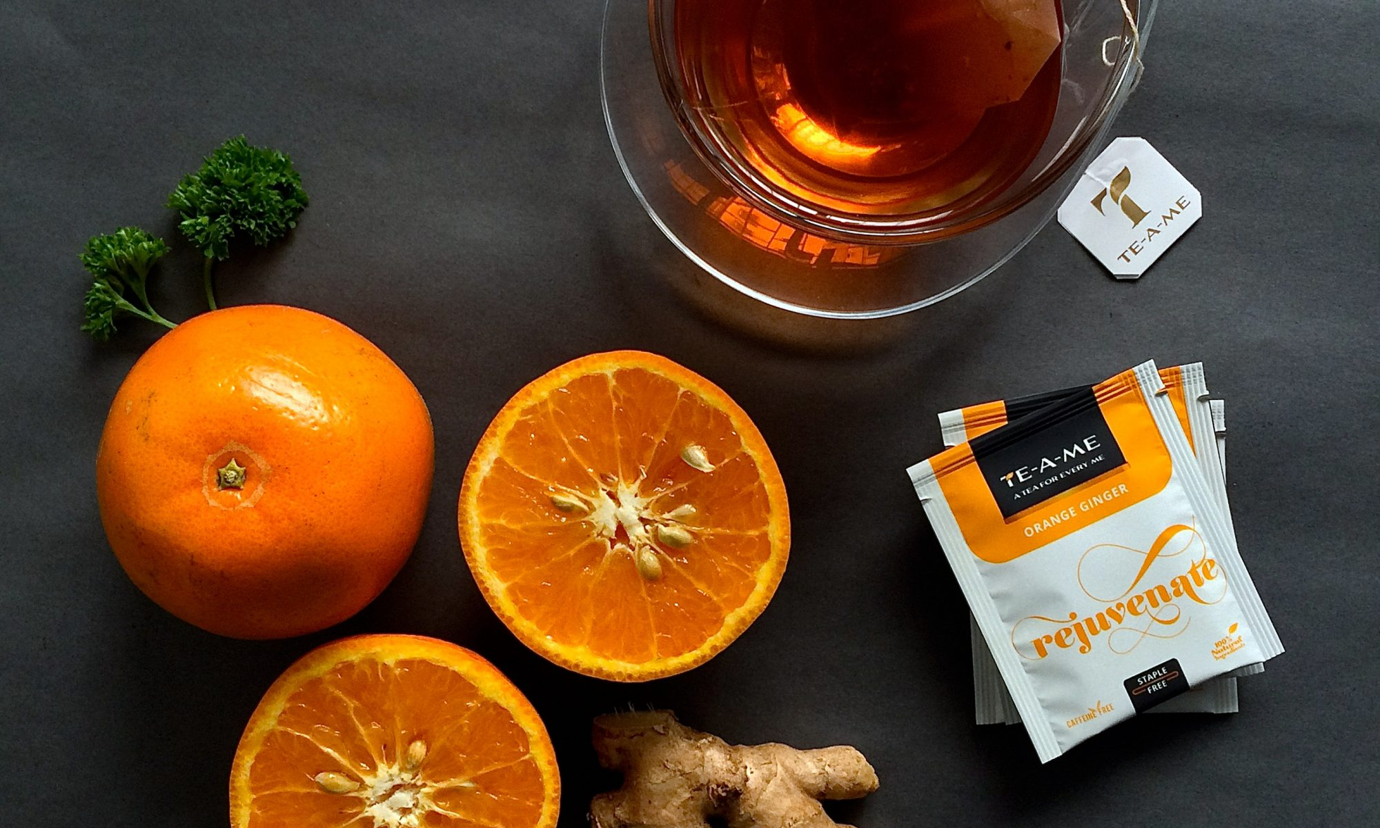 orange ginger tea bags