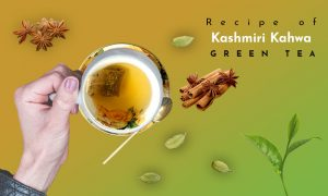 kashmiri kahwa green tea recipe