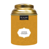 LEMON GINGER TEA TIN