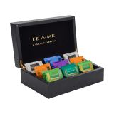 TE-A-ME WOODEN TEA CHEST